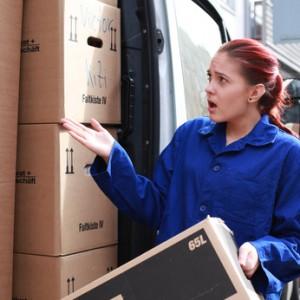 Fehler bei der Umzugsplanung – kein Platz mehr im Transporter