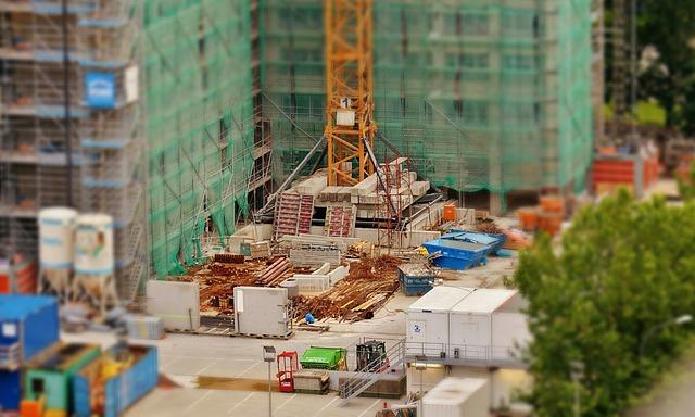 Einer der Gründe für eine Mietminderung ist die Baustelle vor der Wohnung