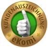 ekomi Kundenauszeichnung Bronze